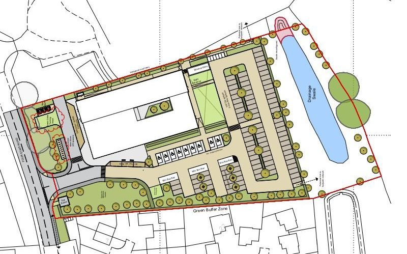 And image relating to this case study about 'Edenbridge Health Centre, Edenbridge, Kent'