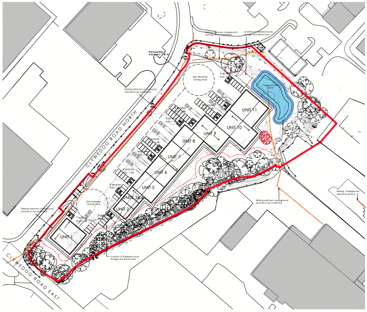 And image relating to this case study about 'Wrexham Industrial Estate'